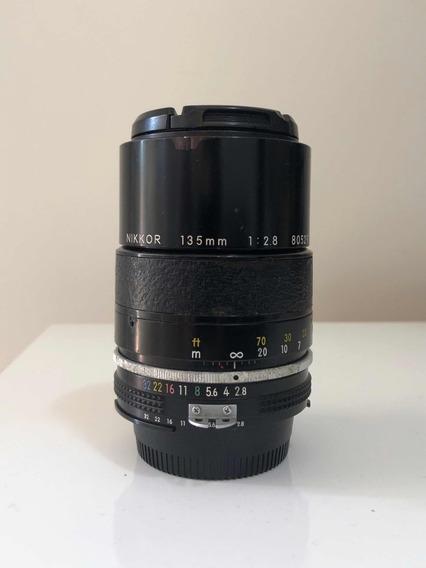 Lente Nikon Nikkor 135mm 2.8 Ai-s