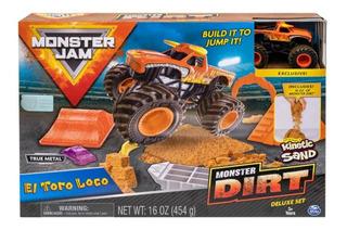 Monster Jam Set De Juego El Toro Loco