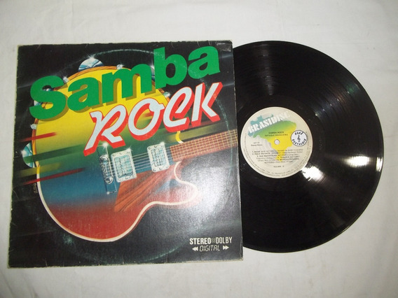 Lp Vinil - Samba Rock - Sotaque Brasileiro