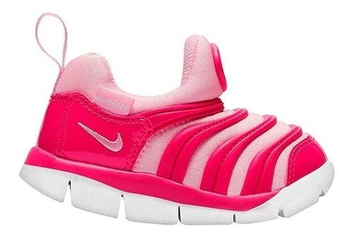 Tenis Nike Dynamo Free (td) Fucsia Tallas De #11 A #14 Bebes