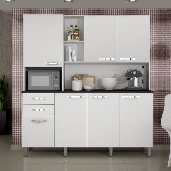 Kit De Cozinha 6 Portas Diamante Sallêto 6530