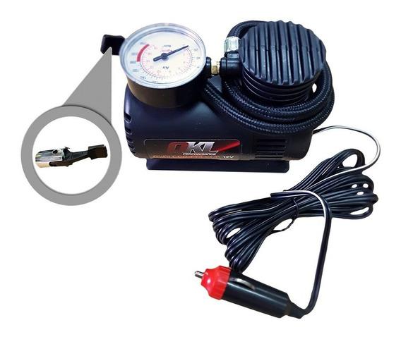 Inflador Compresor Portatil Auto Moto Bici Inflables 12v