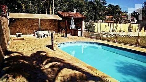 Chácara Com 6 Dormitórios À Venda - Condomínio Bosque Do Currupira - Jardim Celeste - Jundiaí/sp - Ch0066