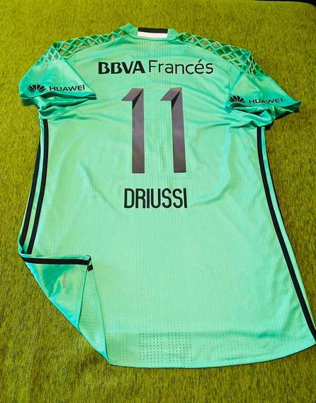 Camiseta River Homenaje Chapecoense # 11 Driussi Talle 9