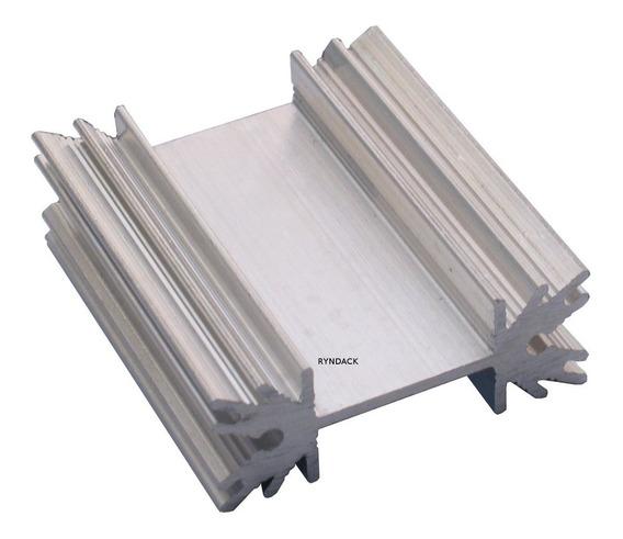 10 Peças * Dissipador De Alumínio Fnt003 40mm To220 Ou To218