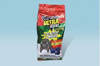Veneno Ratas Raticida Cebo Ultra Blocks 1 Kg (50 Unidades)