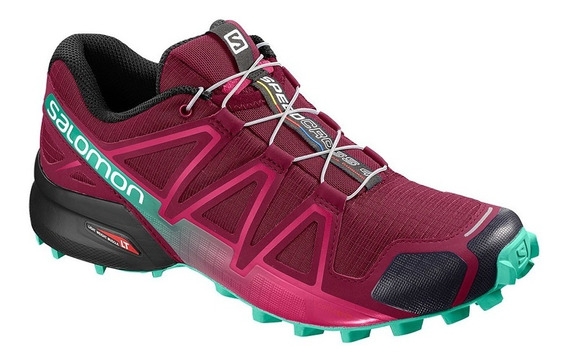 Zapatilla Salomon Speedcross 4 Bordo Trail Running Mujer