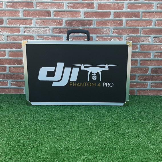Flight Case Para Dji Phantom 4 Pro Hélices Baterias E Tablet