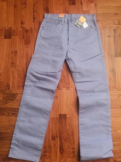 Pantalon Levis 501 Original Nuevo ,lila Talla 33x34