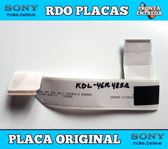Cabo Flet Sony Kdl-46r485a Semi Novo