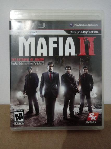 2k Games Mafia 2 Sony Ps3
