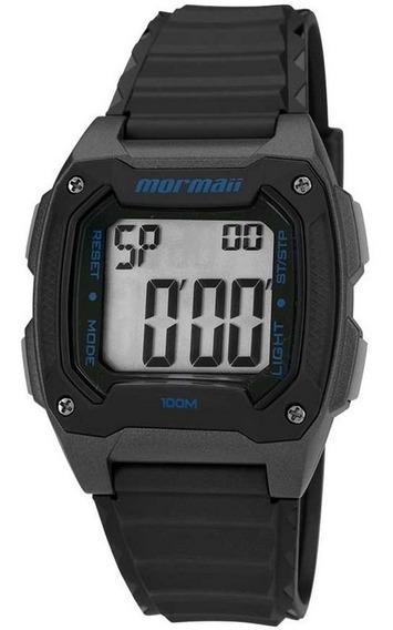 Relogio Mormaii Mo11516a/8a Digital Quadrado Original Alarme Cronometro À Vista Nf Garantia 1 Ano Pronta Entrega