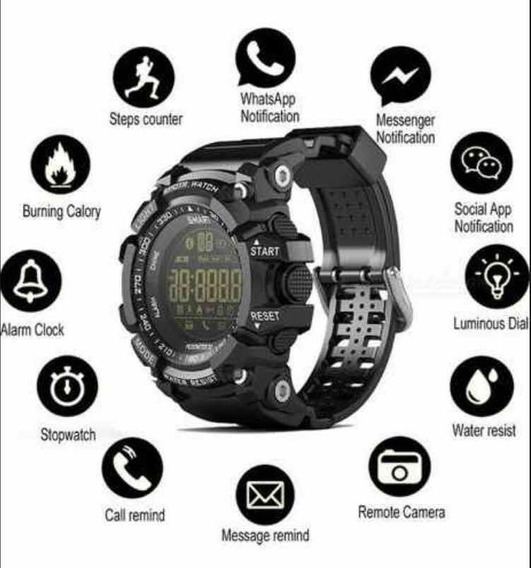 Relógio Multifunções Lokmat Ex 16 G-shock Original