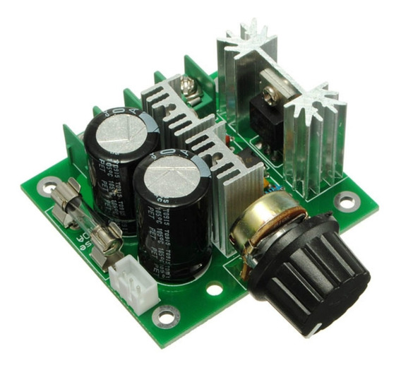 Pwm Controlador De Velocidade Motor Dc 12v À 40v 400w 10a