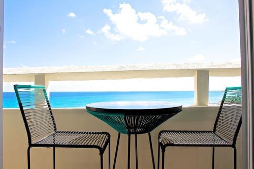 Imagen 1 de 18 de Penthouse Frente Al Mar, Roof Garden Privado Con Vista Al Ma