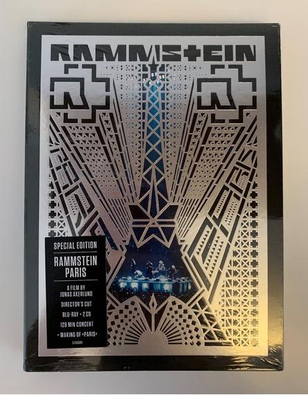Blu-ray + 2 Cds Rammstein Paris Special Edition (2017) Novo!