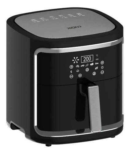 Imagen 1 de 2 de Freidora eléctrica sin aceite Xion Premium XI-FR78 6.8L negra