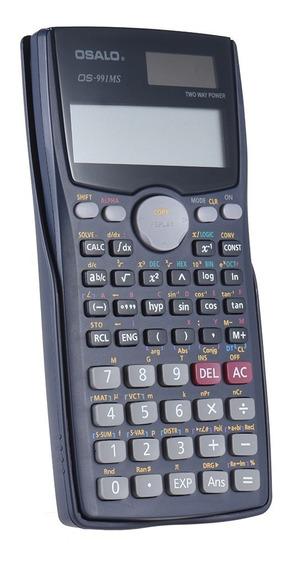 Calculadora Científica P/ Engenharia 401 Funções Mod 991ms