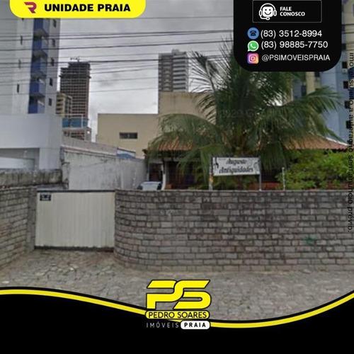 Imagem 1 de 1 de Casa Com 3 Dormitórios À Venda Por R$ 1.600.000 - Manaíra - João Pessoa/pb - Ca0979