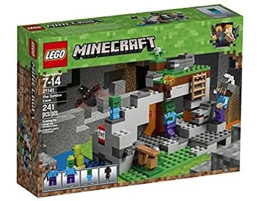 Lego Minecraft 21141 Cueva Zombie Envío Gratis