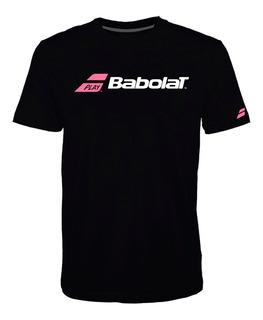 Remera Babolat T Shirt Classic Hombre Negro