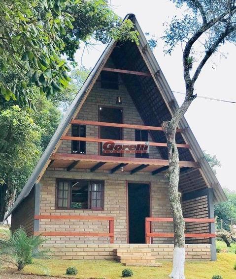 Chácara Com 2 Dormitórios À Venda, 1800 M² Por R$ 250.000 - Taiacupeba - Mogi Das Cruzes/sp - Ch0118