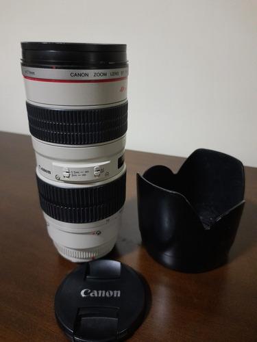Lente 70-200 2.8 Canon Usada
