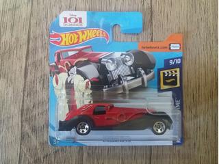 Hot Wheels Cruella De Vil - 101 Dalmatas [lacrado] (2018)
