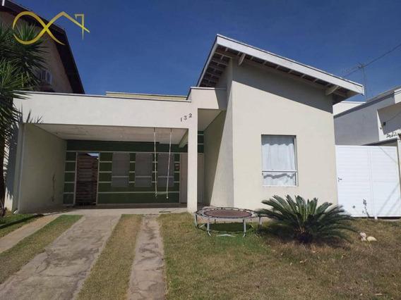 Casa Com 3 Dormitórios À Venda, 127 M² Por R$ 570.000,00 - Condomínio Terras Do Fontanário - Paulínia/sp - Ca1765