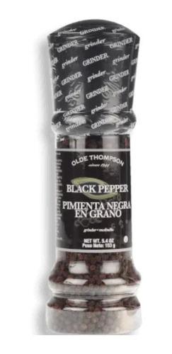 Pimienta Negra En Pepa Con Molino