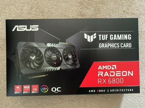 Imagen 1 de 4 de Asus Amd Radeon Rx 6800 Tuf Oc 16gb Gddr6 Graphics Card