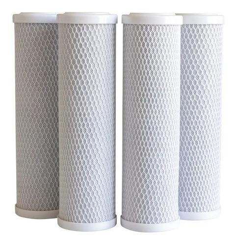 Cartucho Carbon Activado Bloque 10 Repuesto Filtro De Agua