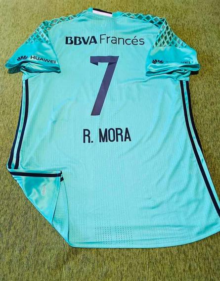 Camiseta River Homenaje Chapecoense # 7 R . Mora Talle 10