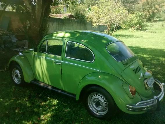 Volkswagem Fuscão 1.500 - Verde - 2º Dono - Muito Original