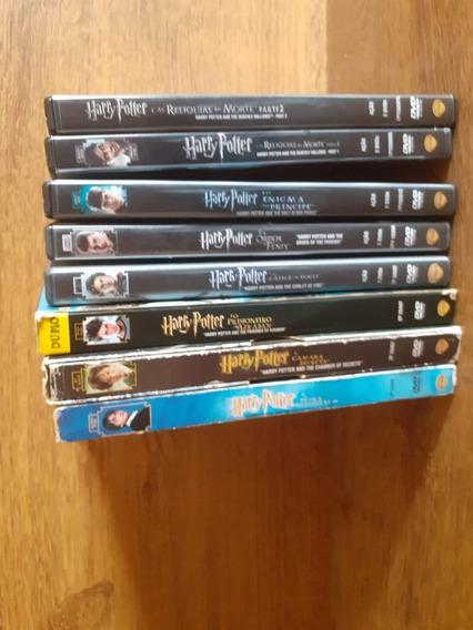 Coleção Harry Potter - 8 Filmes Em Dvd Originais Da Época!
