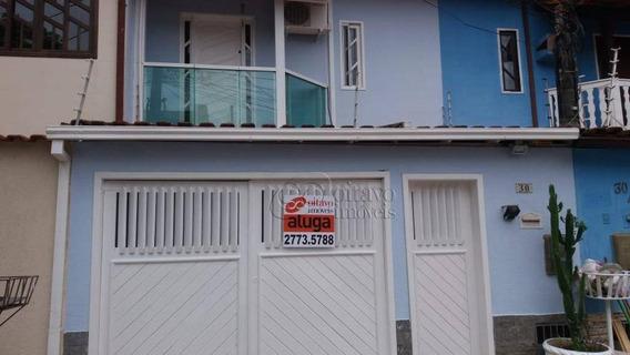Casa Com 3 Dormitórios À Venda, 105 M² Por R$ 320.000,00 - Jardim Santo Antônio - Macaé/rj - Ca1252