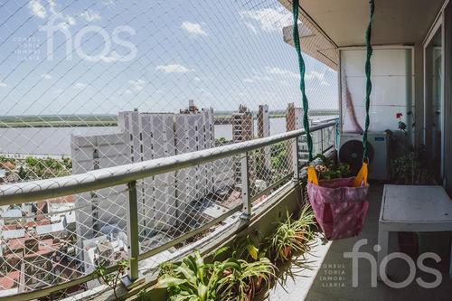 Venta-departamento -dos Dormitorios- Vista Al Rio-piscina- Parque España