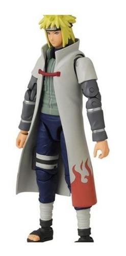 Imagem 1 de 5 de Boneco Minato Namikaze Naruto Shippuden Anime Heroes Bandai