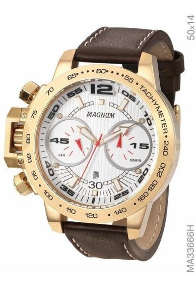 Relógio Magnum Cronógrafo Ma33666h Frete Gratis
