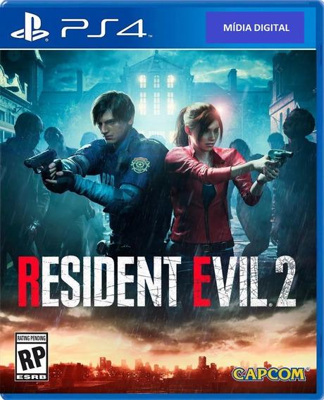 Resident Evil 2 Ps4 Original 1ª Digital Psn
