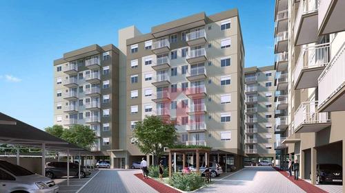 Imagem 1 de 17 de Apartamento Com 2 Dormitórios À Venda, 59 M² Por R$ 259.302,00 - Senai - Santa Cruz Do Sul/rs - Ap1804
