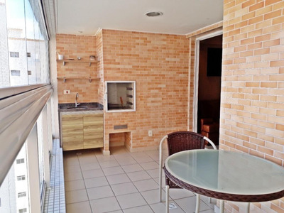 Apartamento Em Vila Guilhermina, Praia Grande/sp De 97m² 3 Quartos À Venda Por R$ 750.000,00 - Ap169080