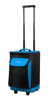 Bolsa Térmica Com Rodinhas Duplas 25 Litros Azul Soprano