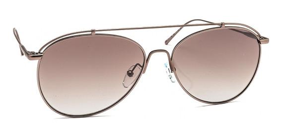 Óculos De Sol Calvin Klein Ck2163s Metálico Matte