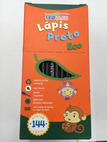Lapis De Escrever E Léo Sextavado / Caixa Com 144 Unidades