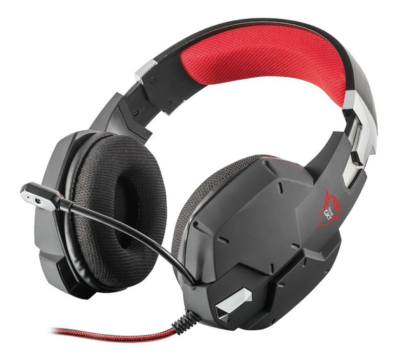 Auricular Gxt 322 Gaming Headset Trust Negro Ps4 Xbox Pc