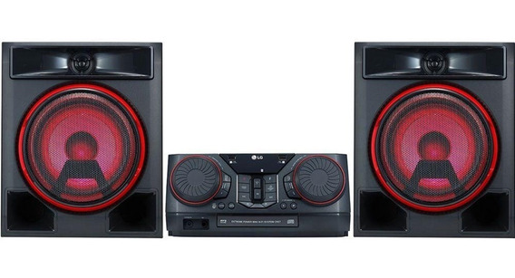 Mini System Lg Ck56 620w Bluetooth Karaokê Com Leds Cd Dvd