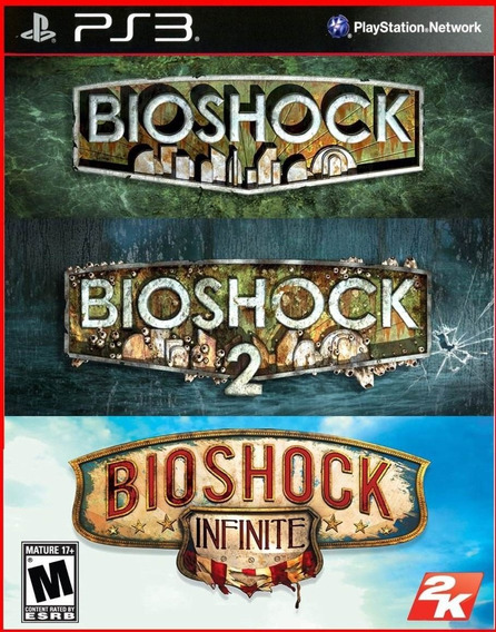 Bioshock Trilogy - Bioshock 1, 2 E Infinity Ps3 Digital