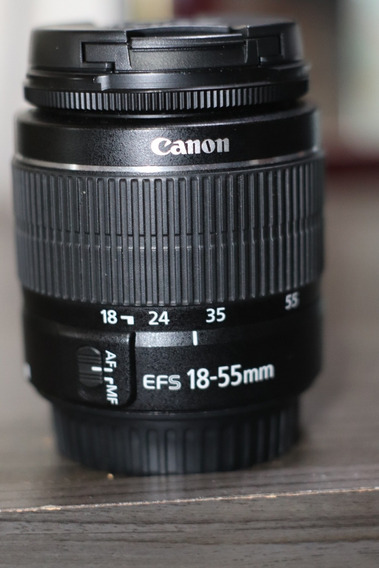 Lente Kit 18-55 Canon Ef-s