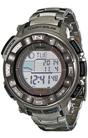 Reloj Deportivo Digital Solar Resistente De Trekking Prw2500